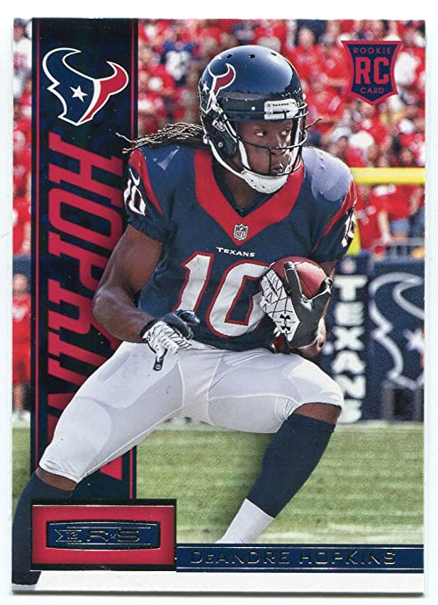 new products e4273 afd0a DeAndre Hopkins 2013 Panini Rookie & Stars Rookie Card at ...