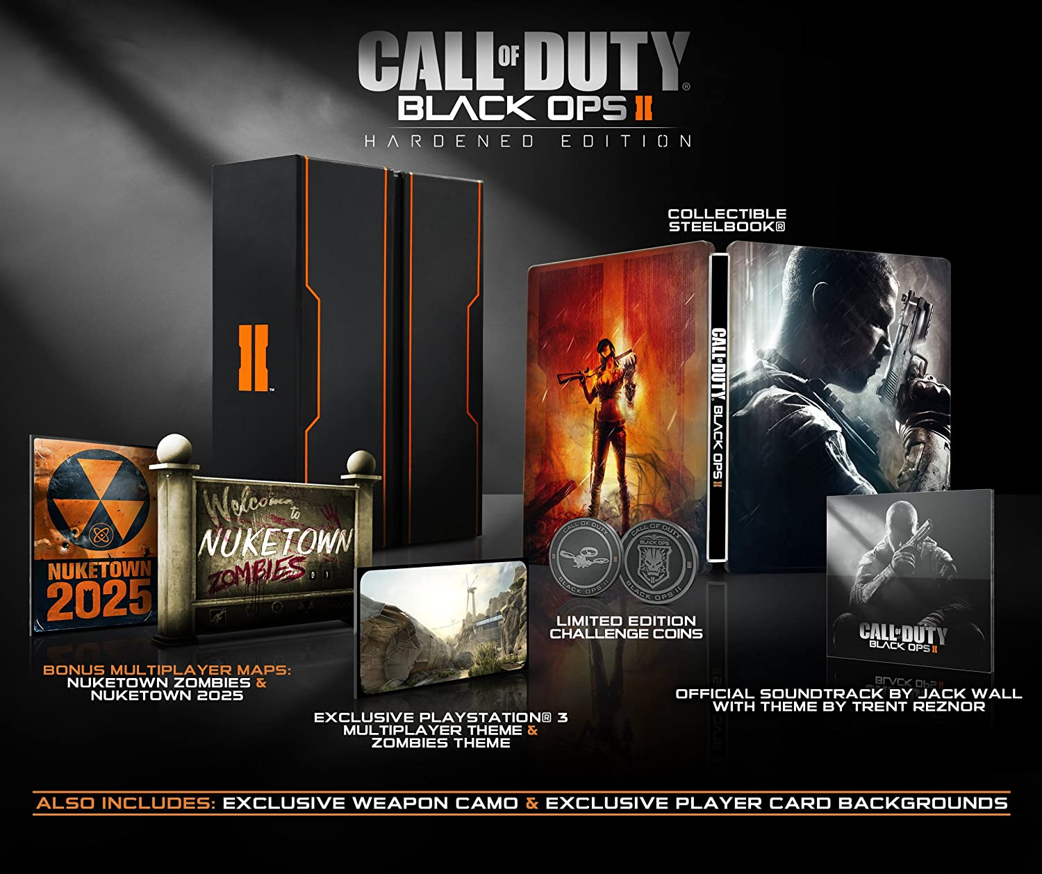 Amazon com: Call of Duty: Black Ops II [Hardened Edition