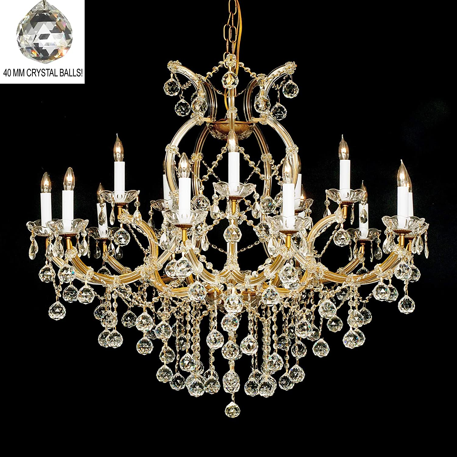 Swarovski Crystal Dollhouse Chandelier: Swarovski Crystal Trimmed Chandelier! New! Crystal