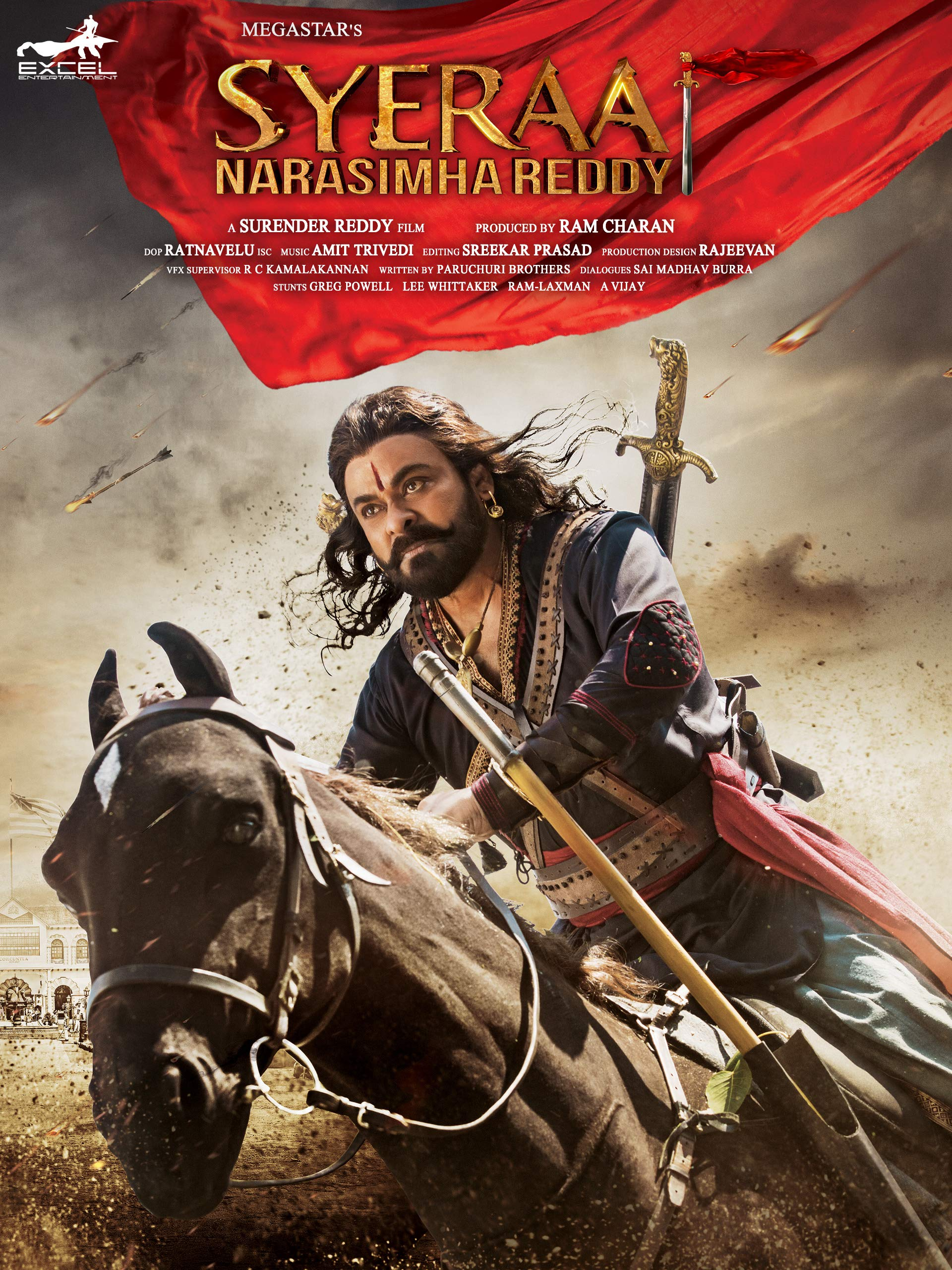 Sye Raa Narasimha Reddy (Telugu) on Amazon Prime Instant Video UK