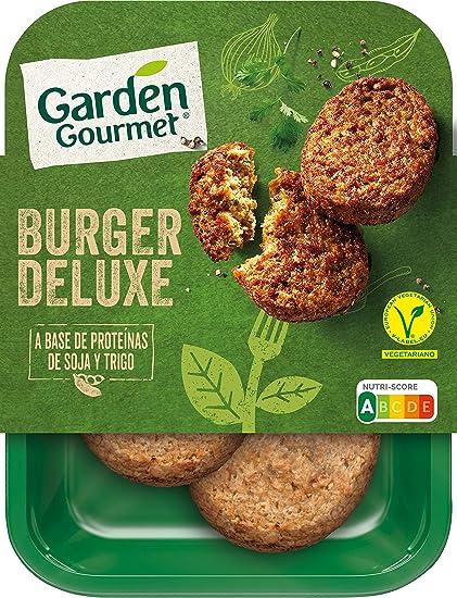 Garden Gourmet - Burger Deluxe, Hamburguesa Vegetariana, 180g