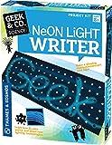Thames & Kosmos 550055Neon Light Writer Cartone peg Board Kit