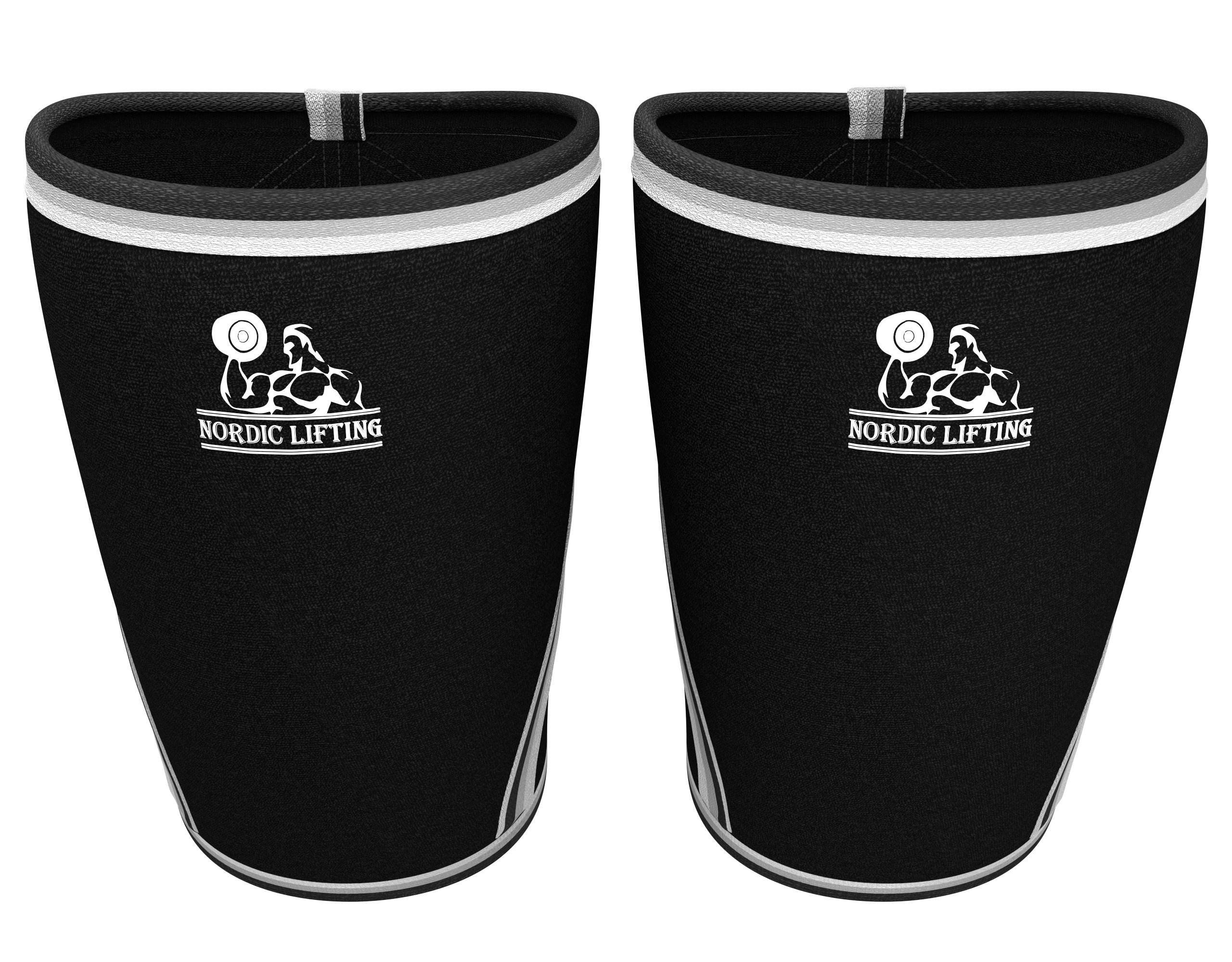 Nordic Lifting Knee Sleeves (1 Pair) Support & Compression for The Best Squats, 7mm Neoprene X-Small by Nordic Lifting (Image #3)