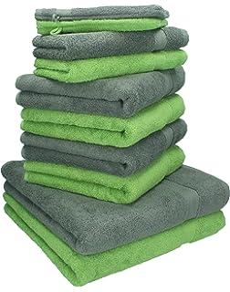 Betz 10 Pezzi. Set di asciugamani 2 asciugamani da doccia, 4 ...