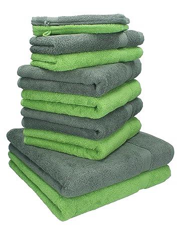 Weiche Handtücher Ohne Weichspüler betz 10 tlg handtücher set 2 duschtücher 4 handtücher 2 gästetücher