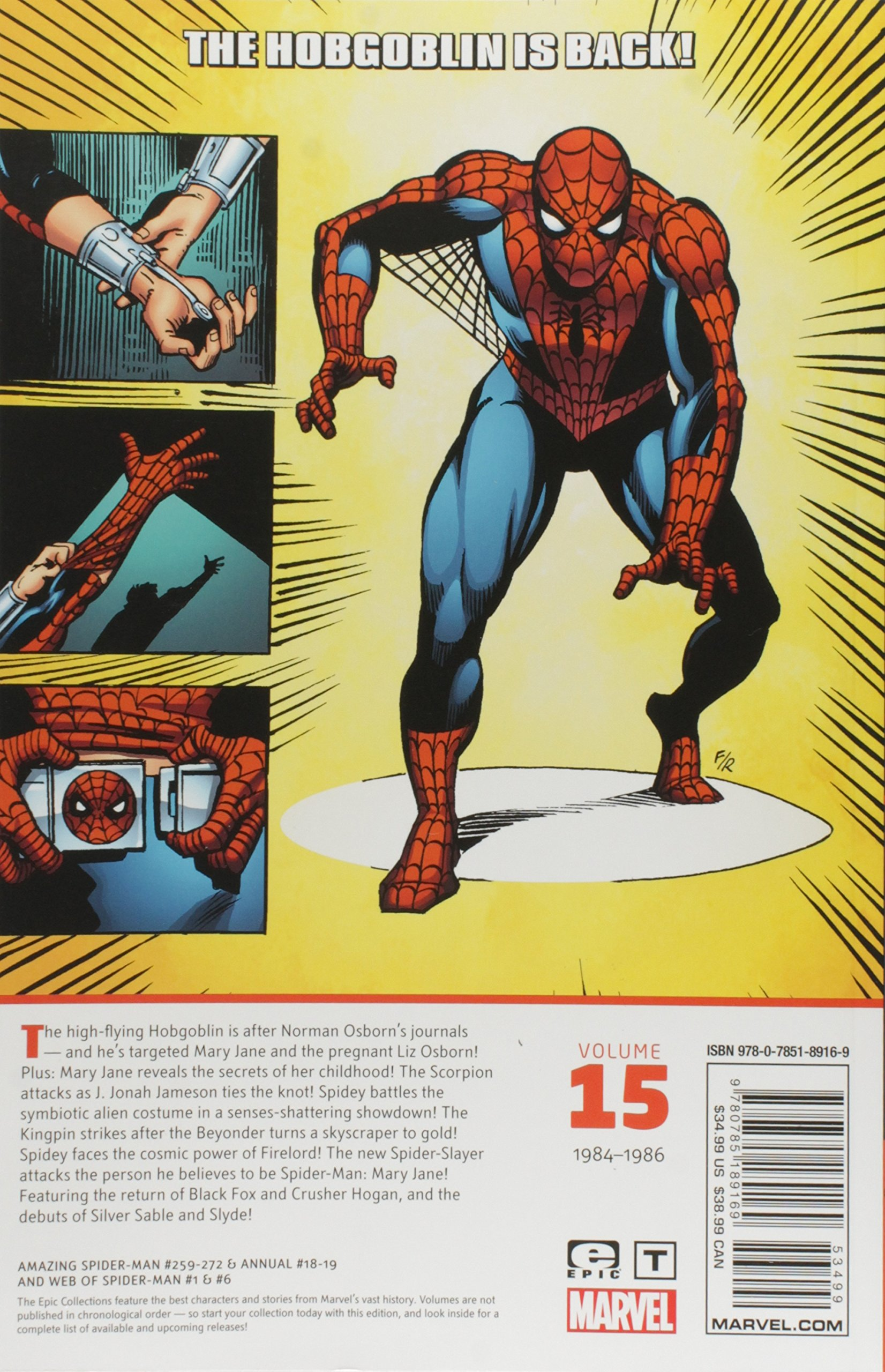 Amazing Spider-Man Epic Collection TP Ghosts Of Past MARVEL COMICS