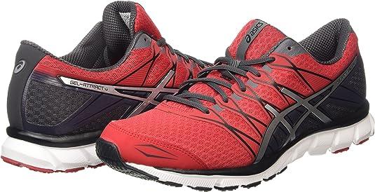 ASICS - Gel-Attract 4, Zapatillas de Running Hombre, Rojo (Racing Red/Silver/Iron 2393), 41.5 EU: Amazon.es: Zapatos y complementos