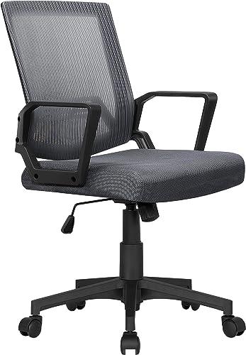 Topeakmart Ergonomic Adjustable Office Desk Chair