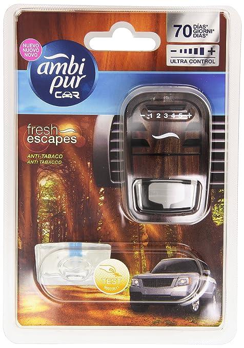 25 opinioni per Ambi Pur Car Deodorante per Auto, Anti Tabacco con 1 Ricarica, 7 ml