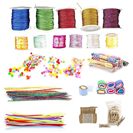 Pickme Assorted Decorative Materials Set for Arts and Crafts - 10