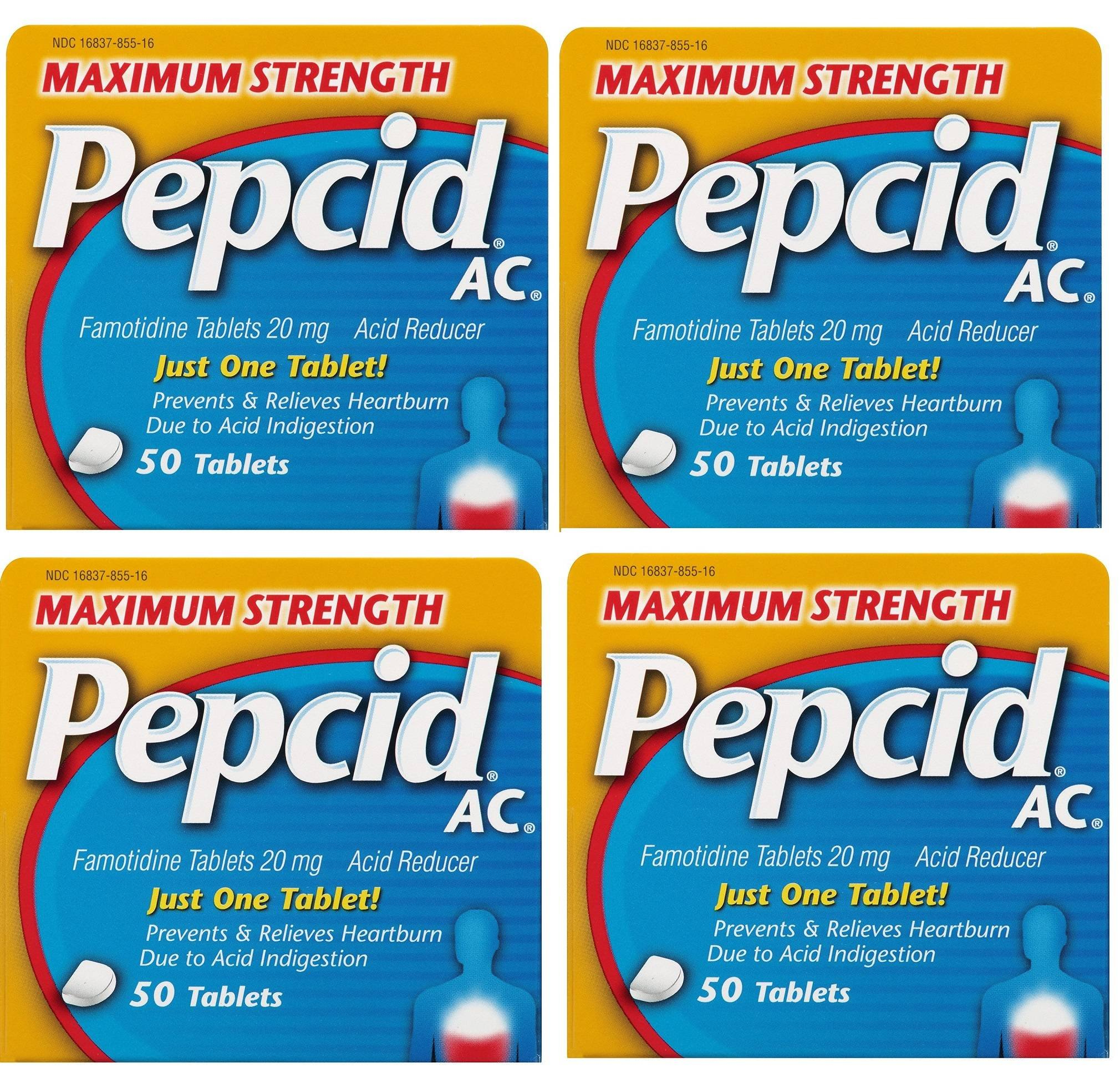 Maximum Strength Pepcid Ac Tablets brXuMe, 200 Count