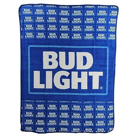 The Northwest Company Bud Light Super Soft Plush Throw Blanket