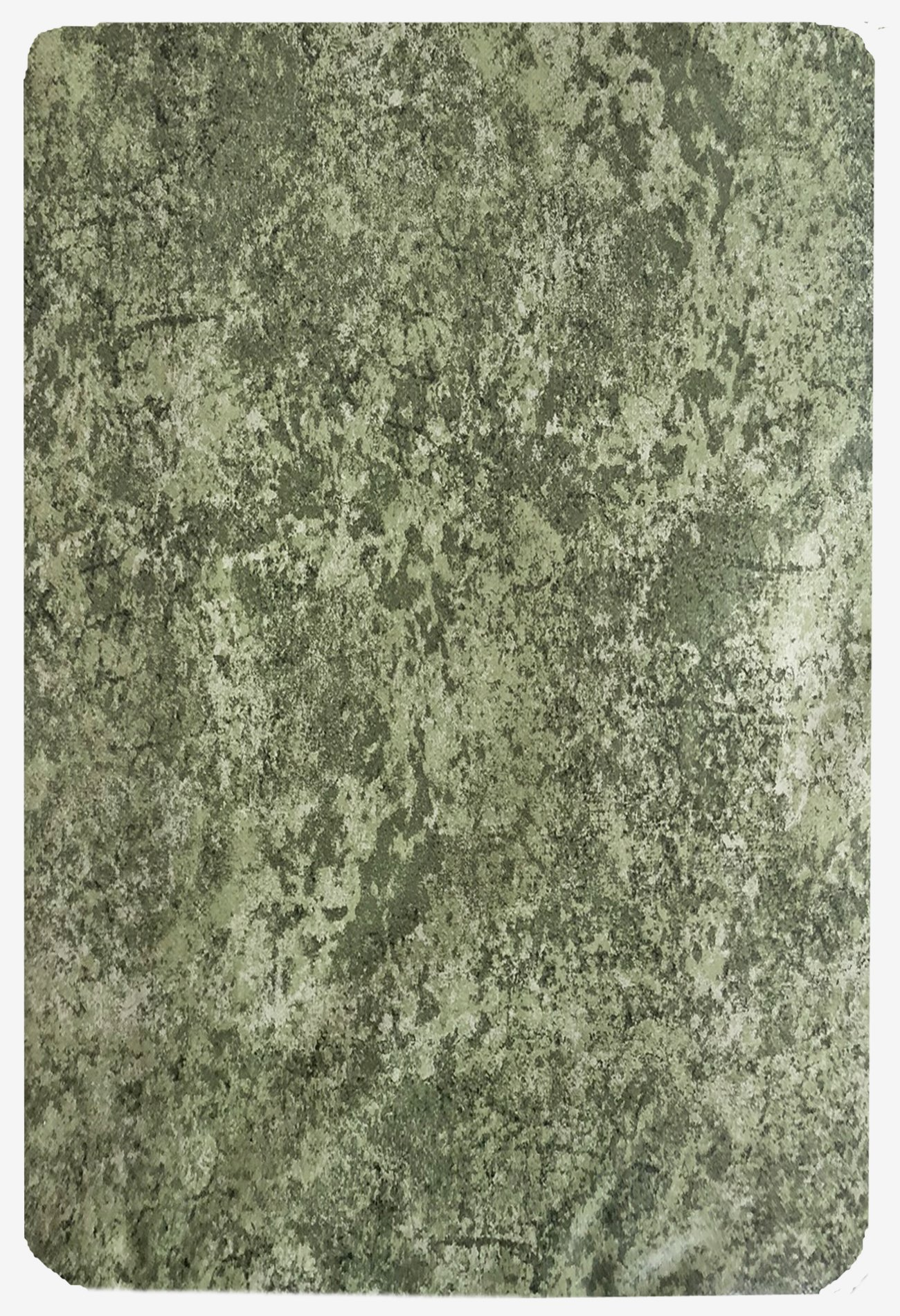 Sage Milano Marble Solid Color Print Heavy Gauge Vinyl Flannel Backed Tablecloth, Indoor/Outdoor Tablecloth for Picnic, Barbeque, Patio and Kitchen Dining, (60 Inch x 84 Inch Oblong/Rectangle) by Newbridge (Image #2)
