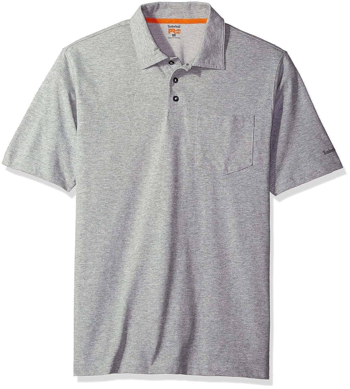 Timberland Pro Hombre de Placa Base Mezclado Short-Sleeve Polo ...