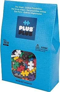 PLUS PLUS – Basic Mix - 300 Piece, Construction Building Stem/Steam Toy, Mini Puzzle Blocks for Kids