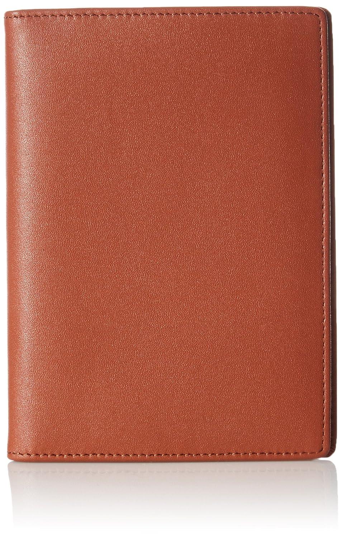 AmazonBasics Leather Rfid Blocking Passport Wallet, Brown ZH1511231R4J