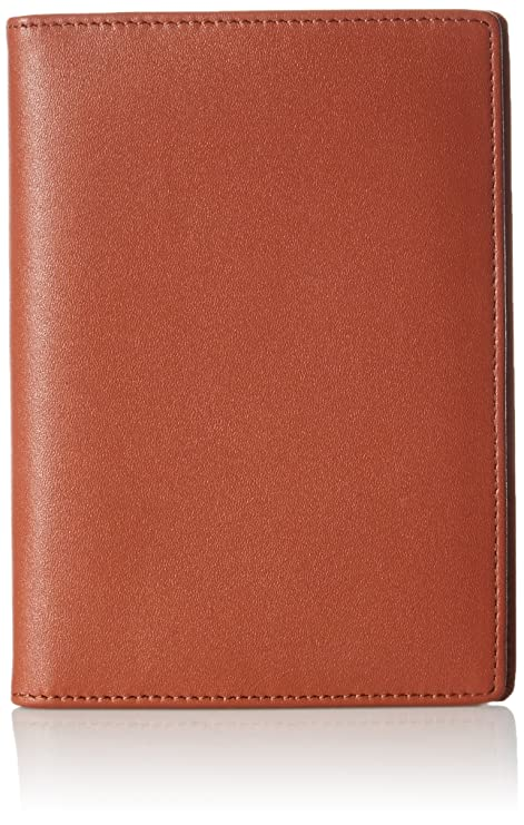 big sale bcb82 a55a3 AmazonBasics Leather RFID Blocking Passport Wallet, Brown