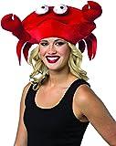 RASTA IMPOSTA 1527 Red Women's Crab Hat (One Size)
