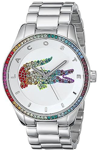 Lacoste 2000869 - Reloj Unisex, Correa de Acero Inoxidable: Amazon.es: Relojes