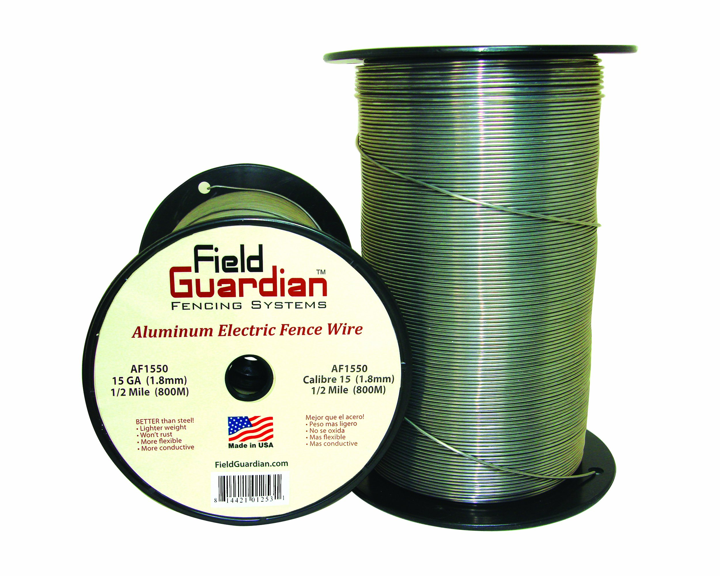 Field Guardian 15-Guage Aluminum Wire, 1/2 Miles