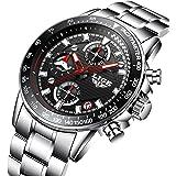 腕時計 メンズ腕時計 カジュアル ファッション ビジネス ステンレススチールウォッチ 日付表示 コマース スポーツ防水クォーツドレス時計
