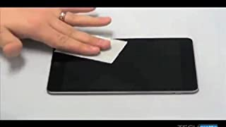 amFilm Tablet Screen Protector Application Guide
