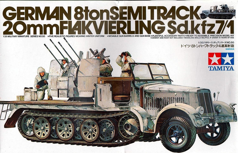 KNL趣味Tamiya 1 / 35モデル35050 7 / 1 SD。KFZ 8 Ton SemiトラックAir Combat Vehicle B01GJVJW8O