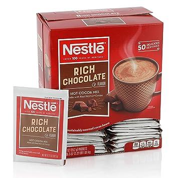 Amazon Com Nestle Hot Chocolate Mix Hot Cocoa Rich Chocolate