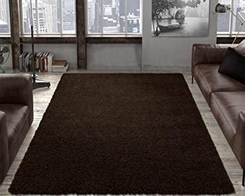 Beautiful Ottomanson Soft Cozy Color Solid Shag Area Rug Contemporary Living And  Bedroom Soft Shag Area Rug