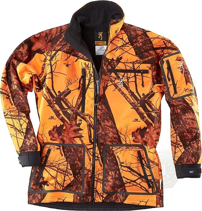 Chaqueta de caza Browning Hell s Canyon odorsmart naranja Blaze, color naranja, tamaño