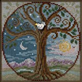 Tree of Life Beaded Counted Cross Stitch Kit Mill Hill 2020 Buttons & Beads Autumn MH142023