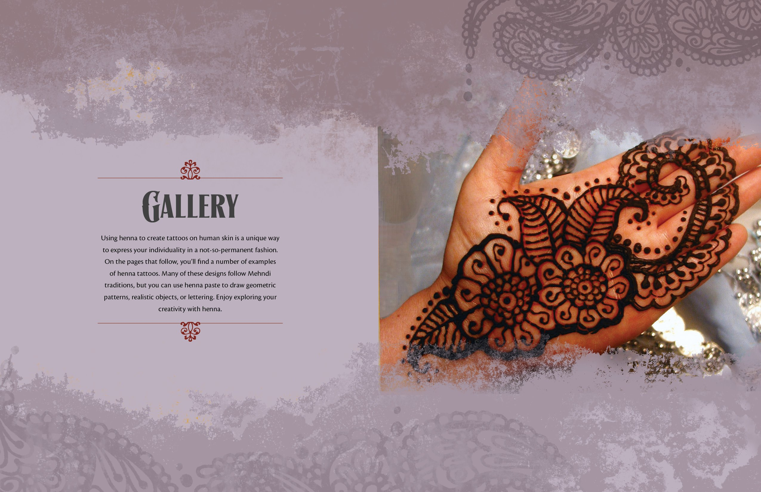 Mehndi Henna Pictures : Teach yourself henna tattoo: making mehndi art with easy to follow