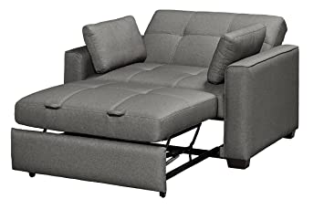 Serta Sofa Sleeper Convertible Into Lounger / Love Seat / Bed   Twin, Full U0026
