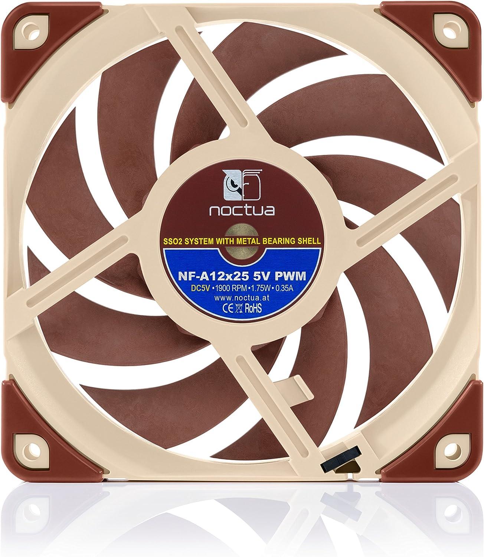 Noctua Nf A12x25 5v Pwm Leiser Premium Lüfter Mit Usb Computer Zubehör