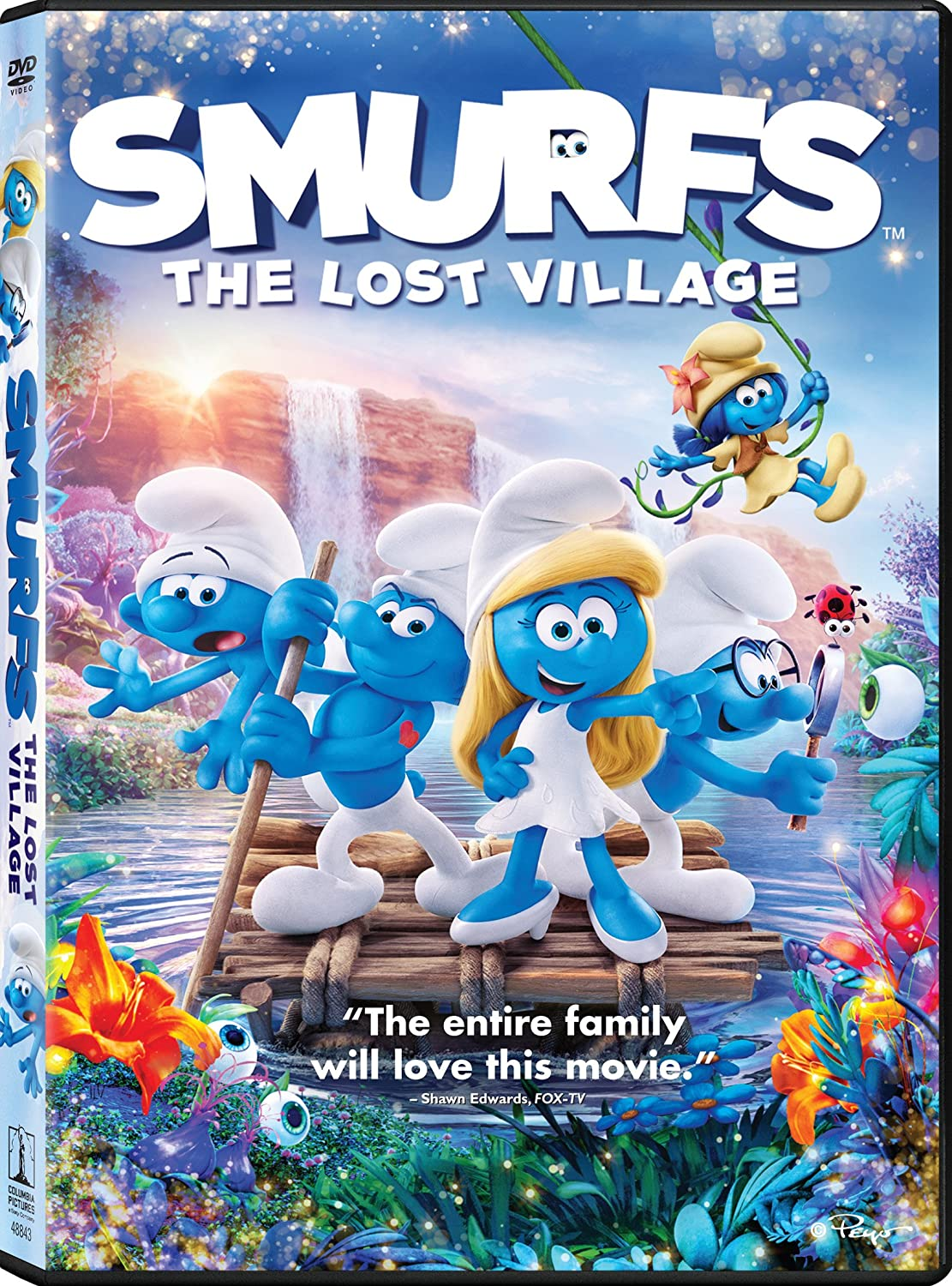 Amazon Com Smurfs The Lost Village Kelly Asbury Jordan Kerner Mary Ellen Bauder Andrews Sony Pictures Animation Inc Movies Tv