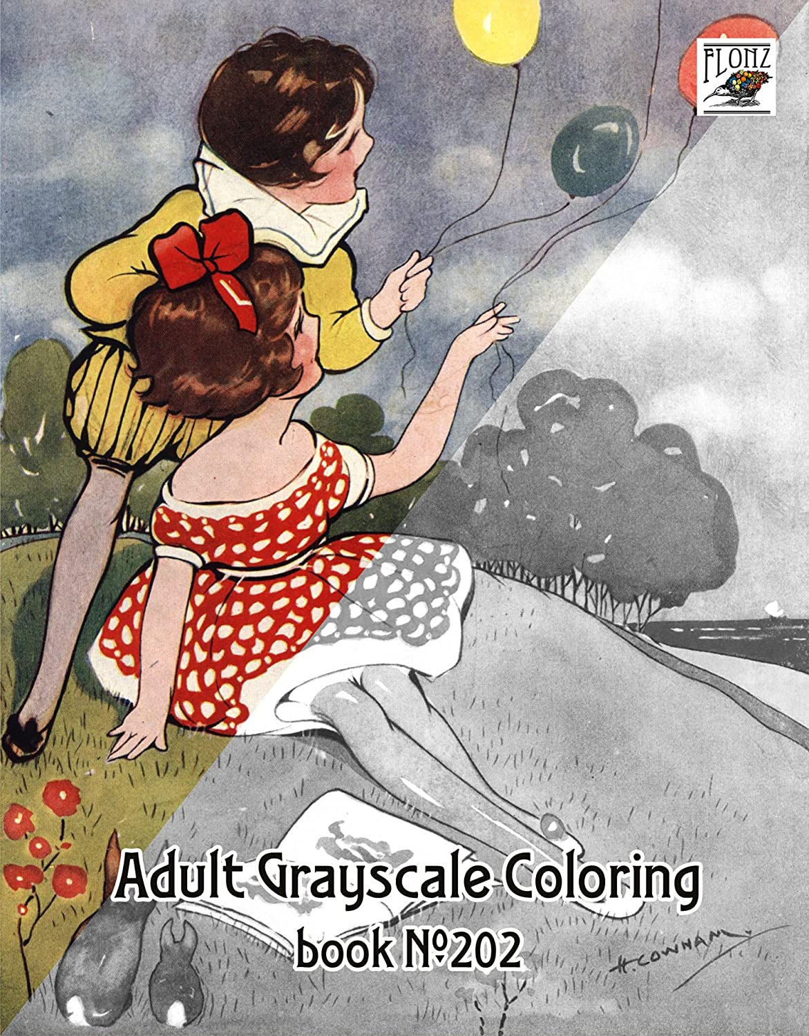 Vintage Coloring Image - Little Girl - Baking - The Graphics Fairy | 1500x1171