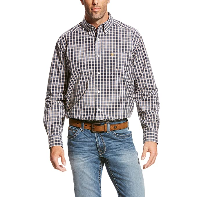 ARIAT Mens Classic Fit Long Sleeve Shirt