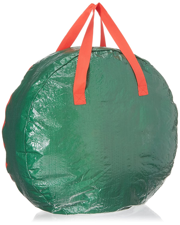 Water Resistant Christmas Wreath Storage Bag 24/'/' Gray