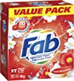 Fab Fresh Blossoms, Laundry Detergent Washing Powder. Suitable for Front and Top Loaders