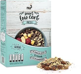 nu3 Muesli Low Carb sabor chocolate | 575g de mezcla de avena y ...