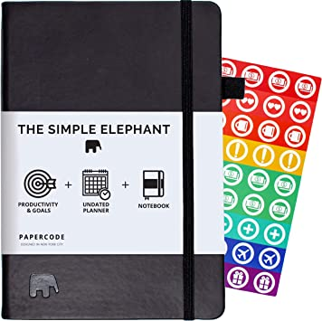 Perfect Fit wi... Productivity Planner Stickers The Simple Elephant Stickers
