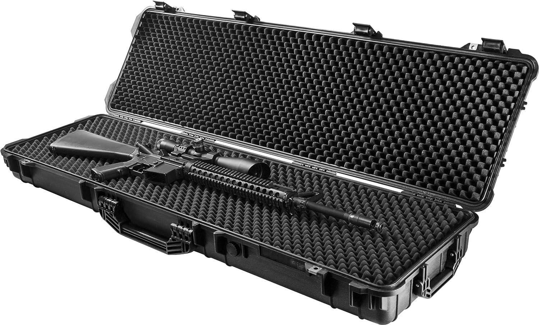 BARSKA Loaded Gear AX-500 Watertight Hard Rifle Case, 53-Inch