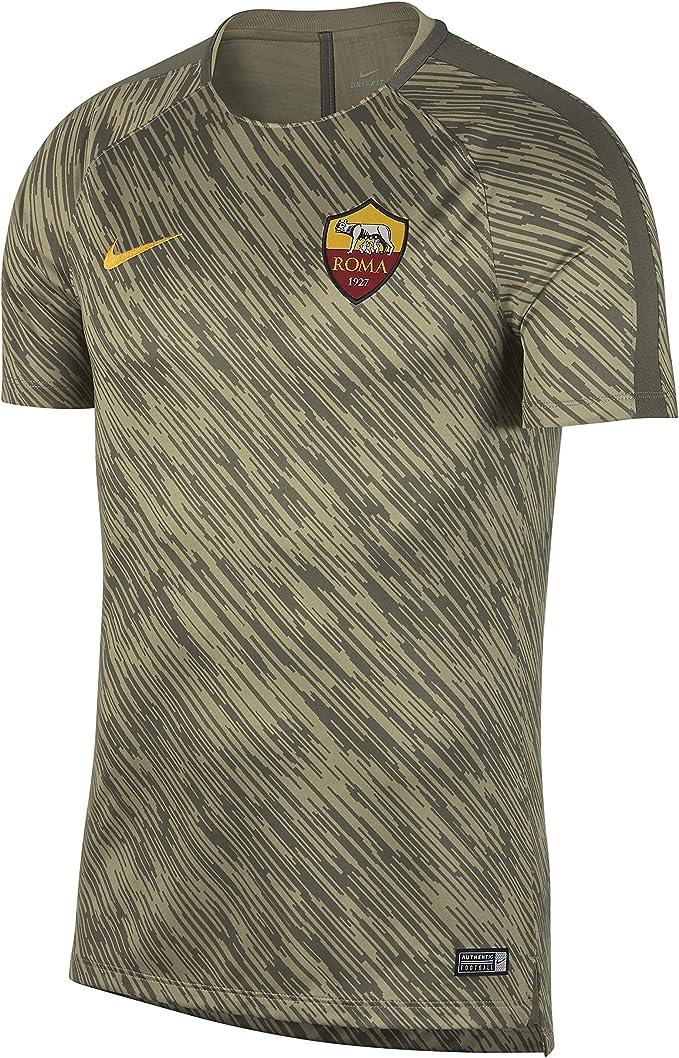 Nike Roma M Nk Dry Sqd SS Gx Maglia da Calcio Uomo