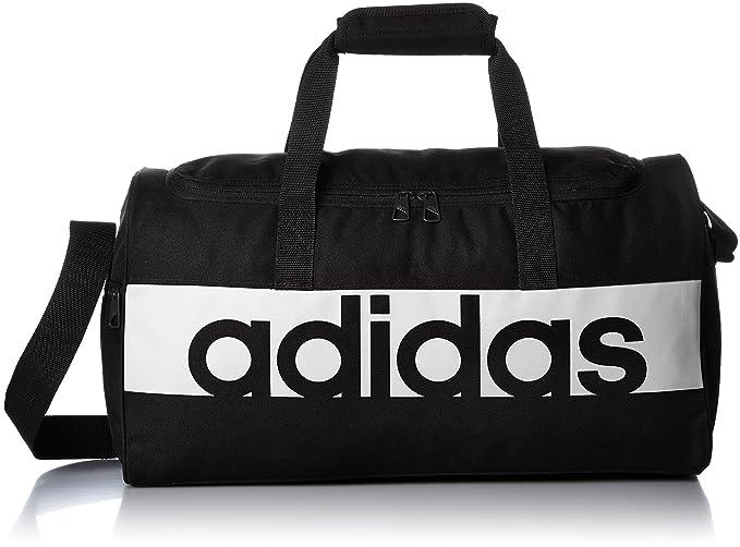 ce1ada24ef Adidas Lin per Tb, borsa sportiva, unisex per adulti, Nero  (Negro/Blanco/Blanco), 22 x 57 x 30 cm: Amazon.it: Sport e tempo libero