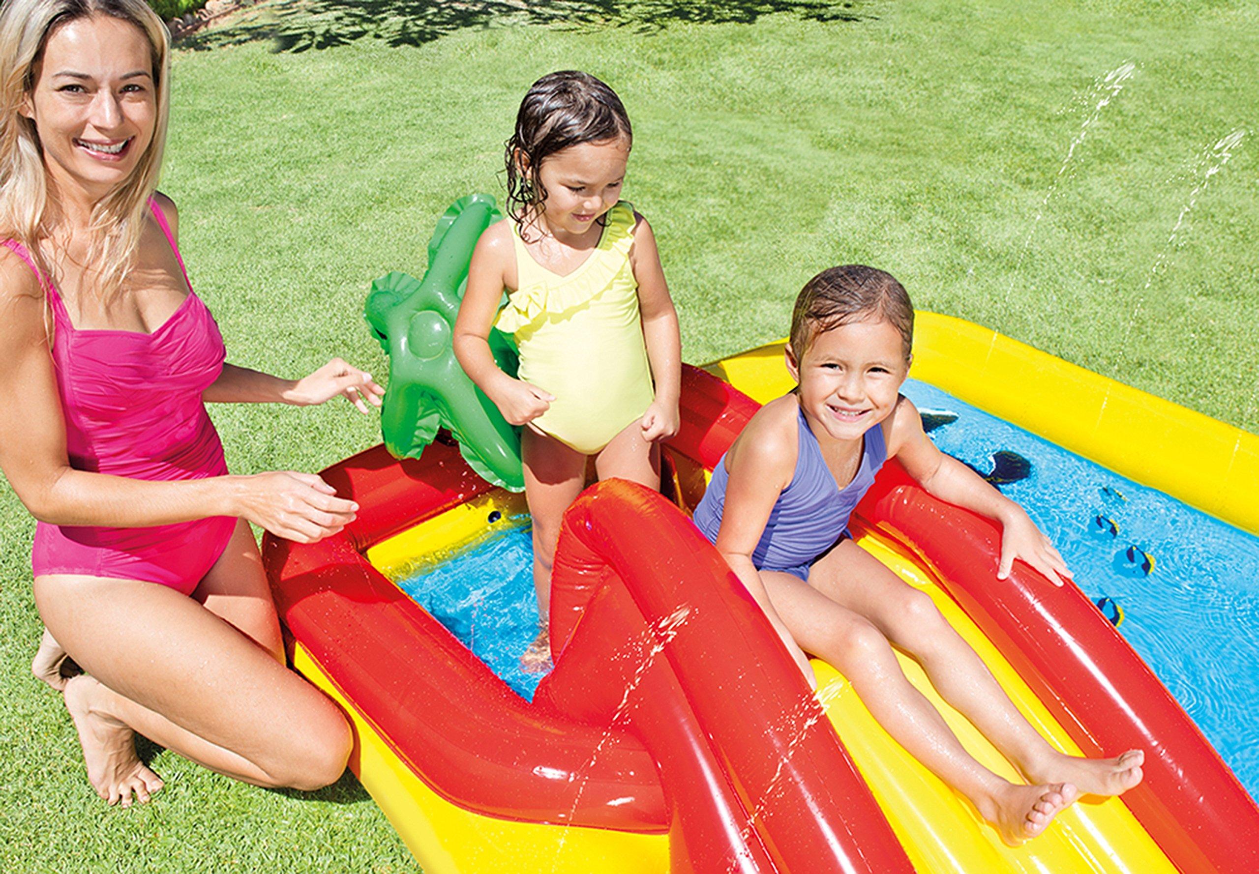 Intex Inflatable Ocean Play Center Kids Backyard Pool (2 Pack) + Air Pump by Intex (Image #5)