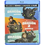 How to Train Your Dragon: 3-Movie Collection [Blu-ray] (Bilingual)