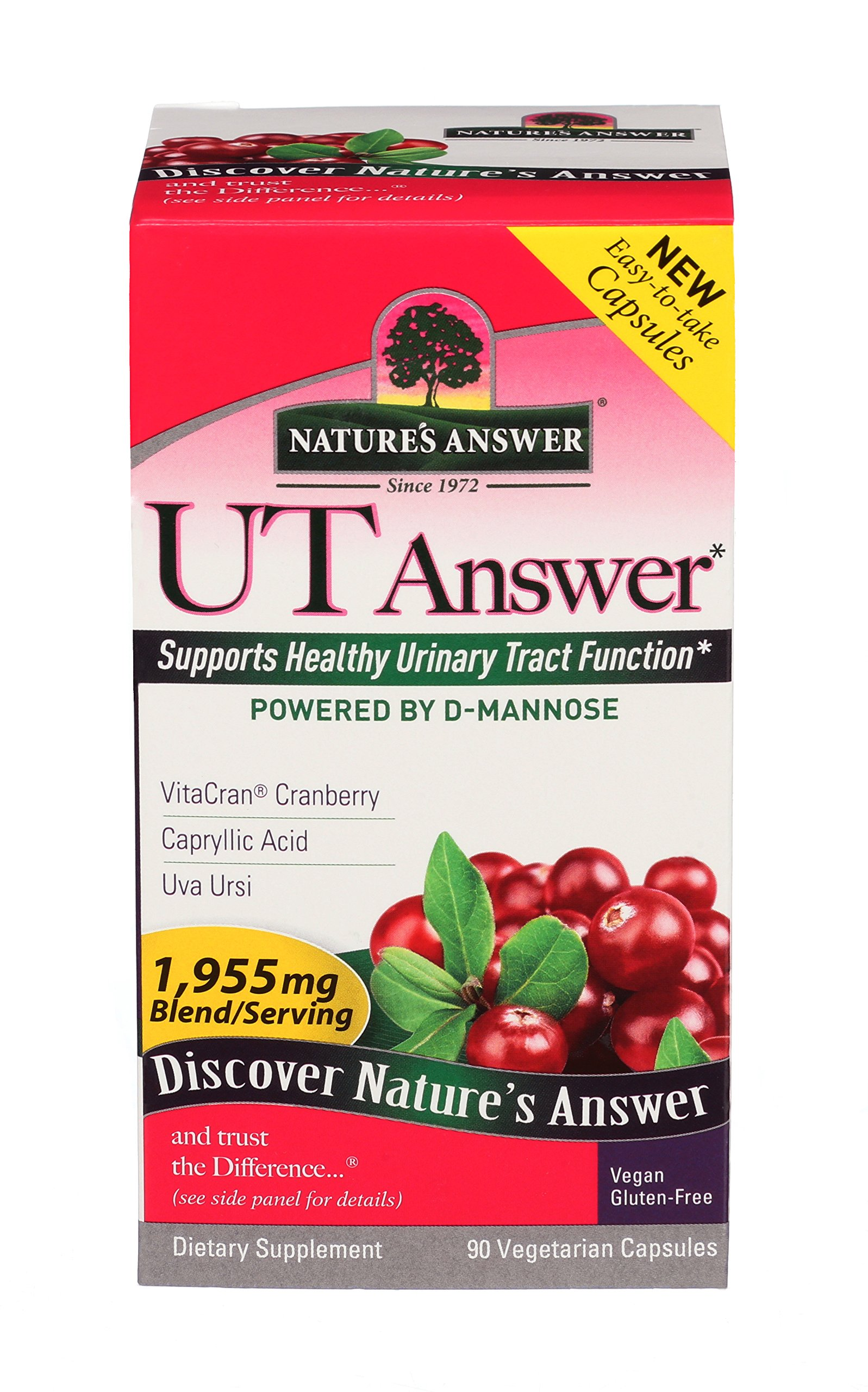 Natures Answer, Ut Answer D Mannose Cranberry, 4 Fl Oz