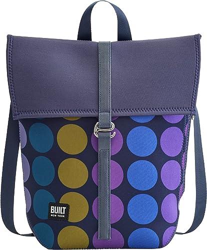 BUILT NY City Neoprene Backpack, Plum Dot