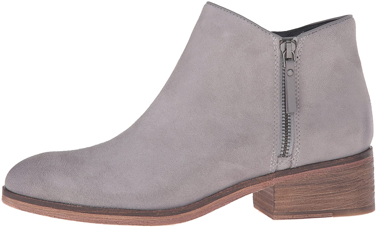 Cole Ankle Haan Women's Hayes Flat Ankle Cole Bootie B01FX6Z8YI 8.5 B(M) US Ironstone Suede 868661