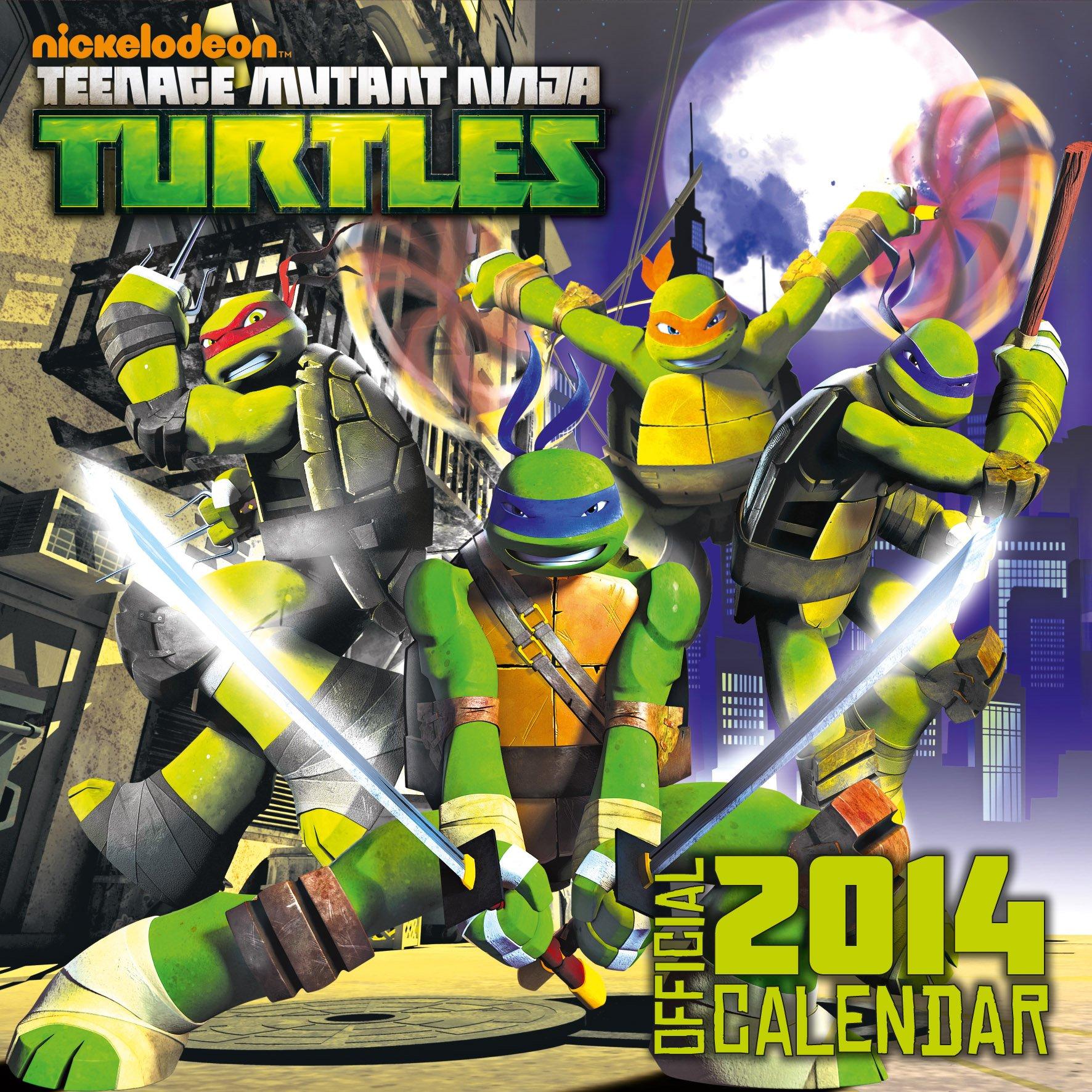 Official Teenage Mutant Ninja Turtles 2014 Calendar ...